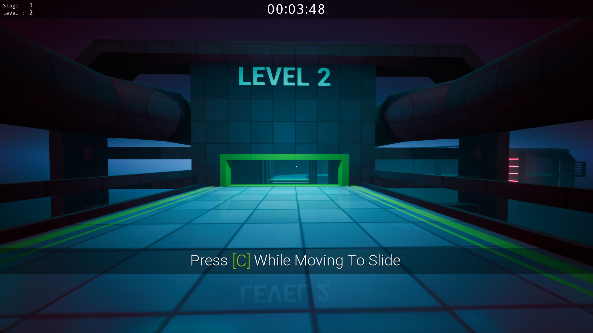 A ninja in training screenshot