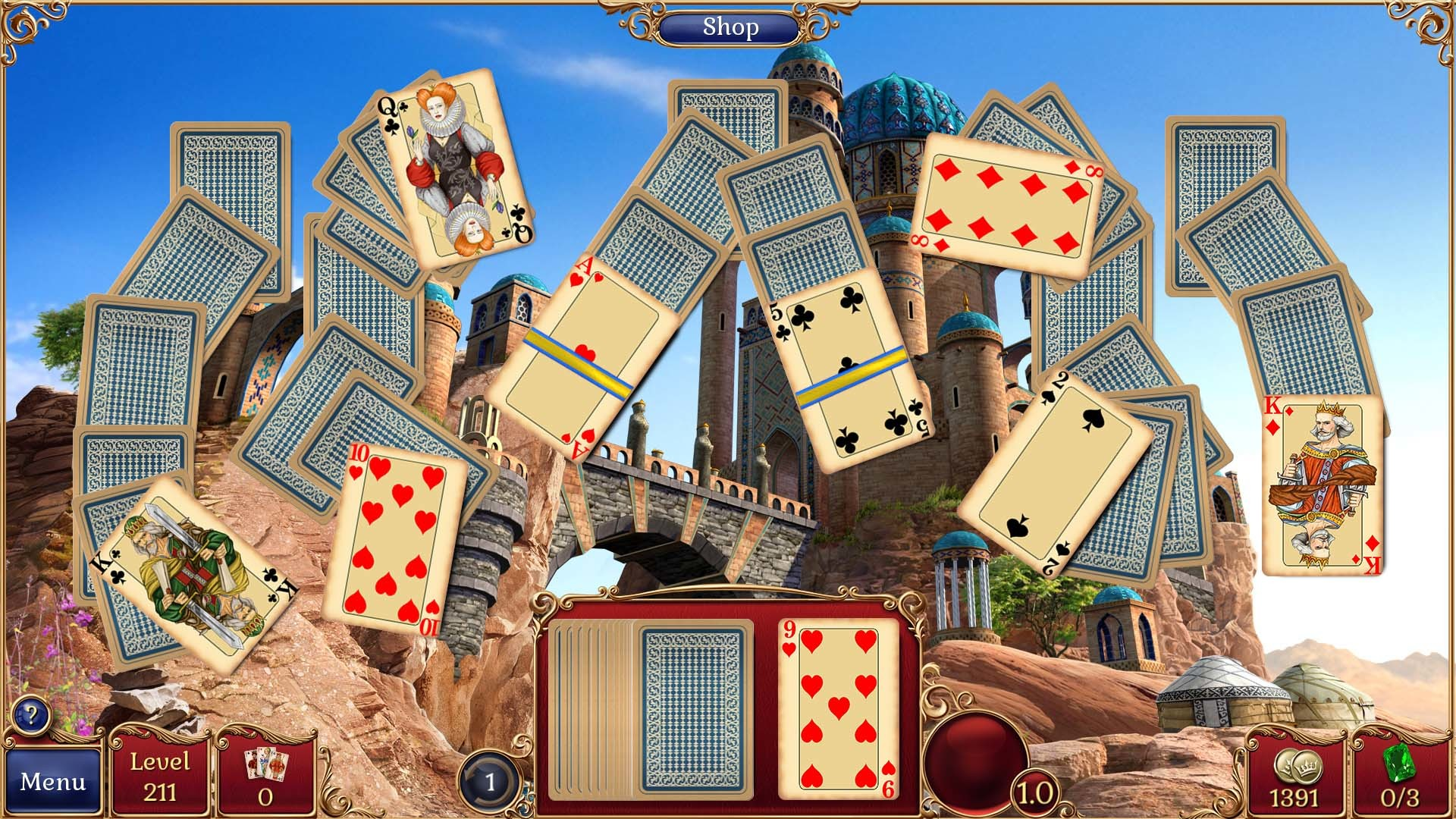 Jewel Match Solitaire Collector's Edition screenshot
