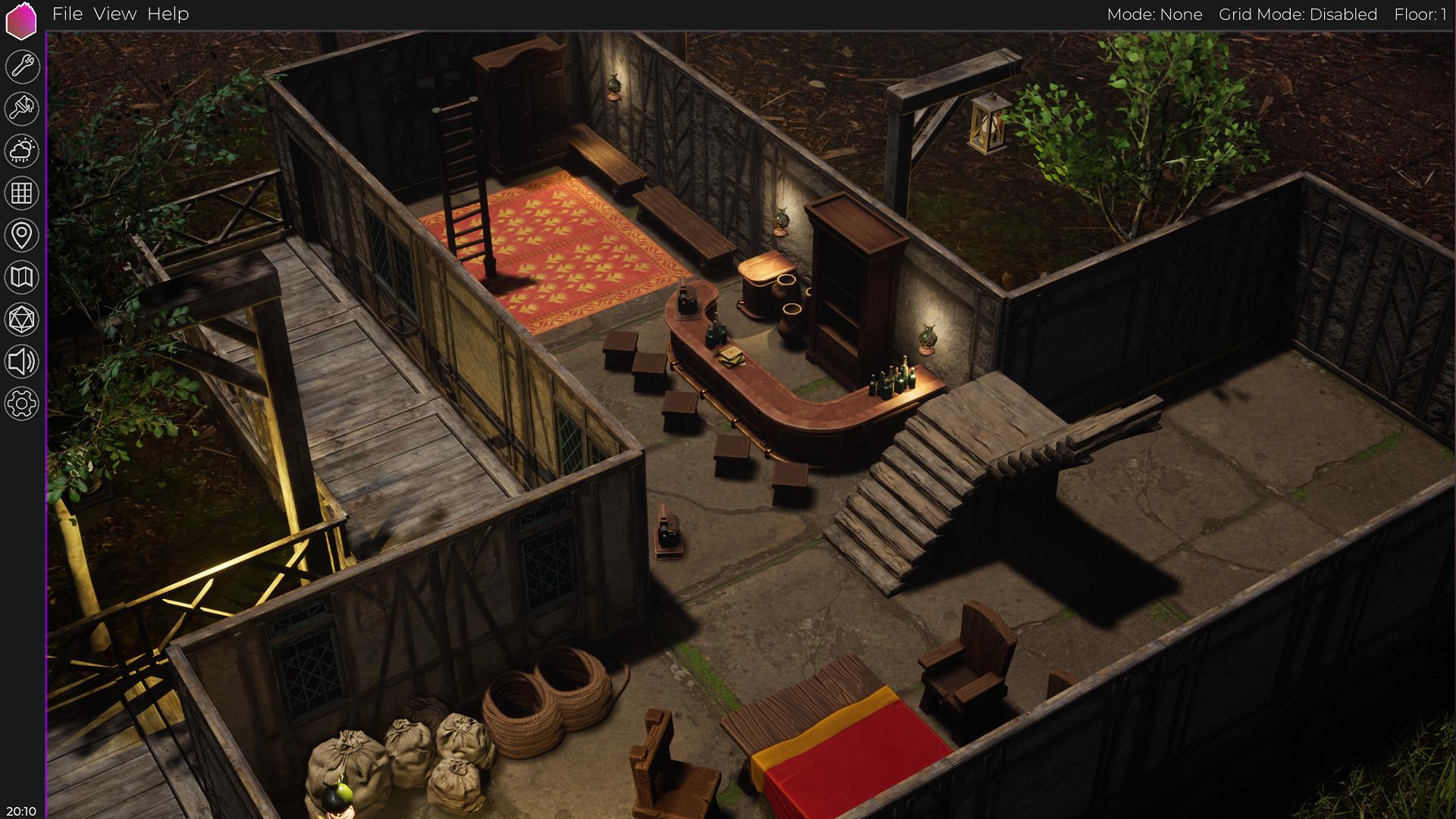 Realm Engine | Virtual Tabletop screenshot