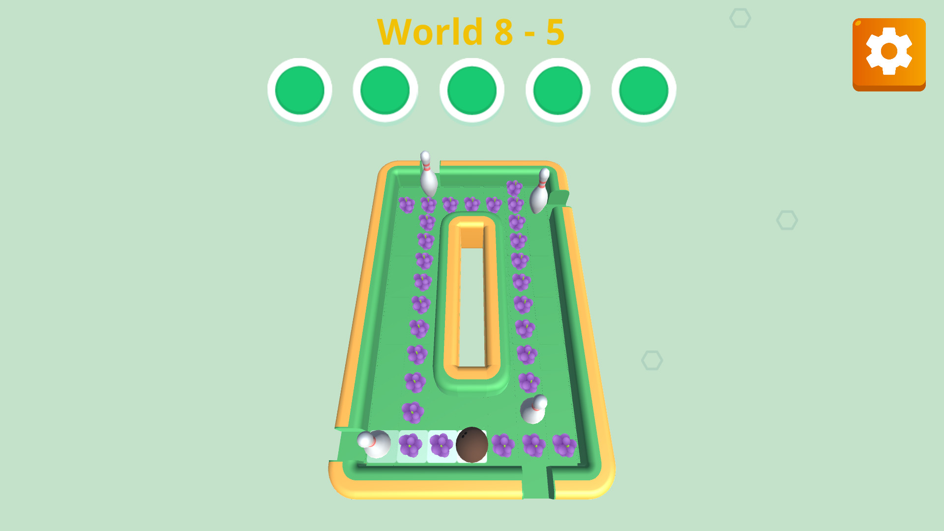 Puzzle Bowling screenshot