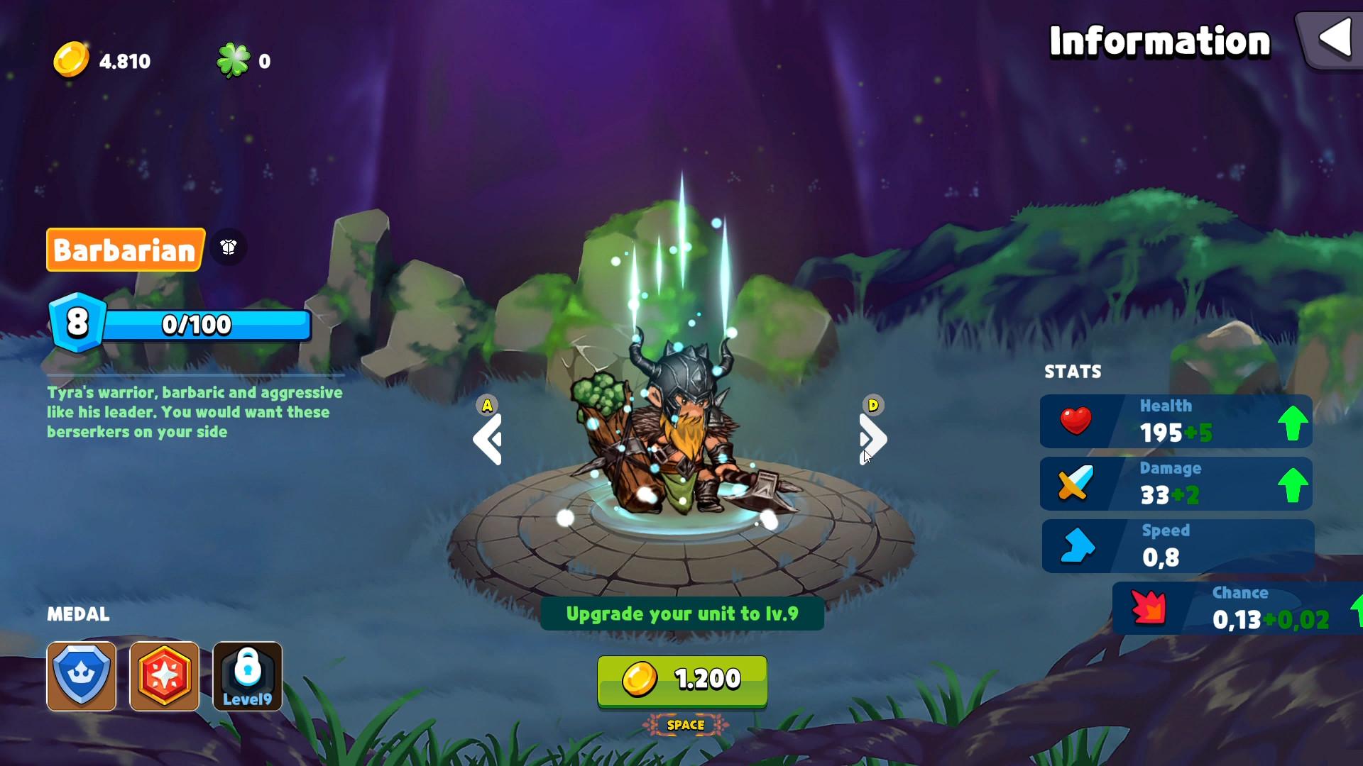 Hero by Chance screenshot