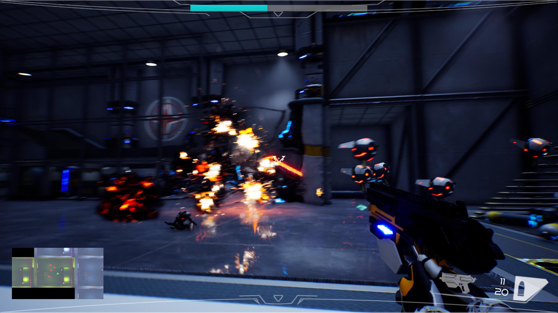 Synthetic Hazard screenshot