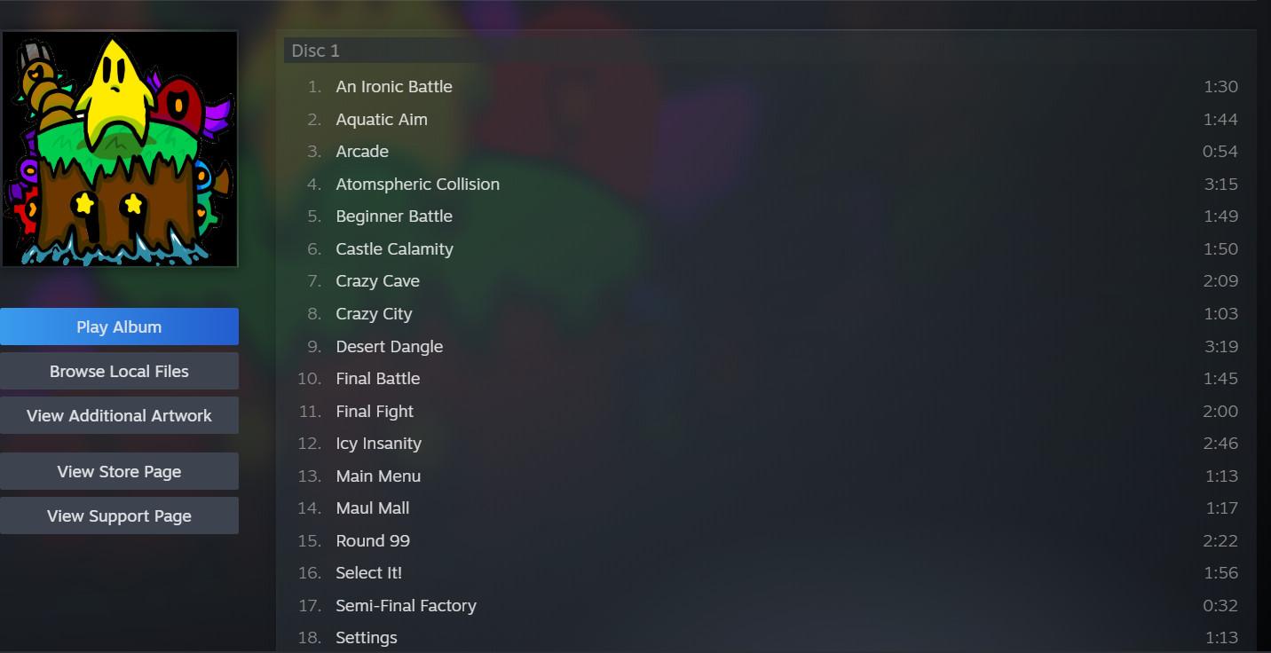 Round 99 Soundtrack screenshot