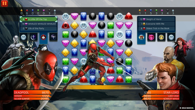Marvel Puzzle Quest: Spidey Starter Pack screenshot