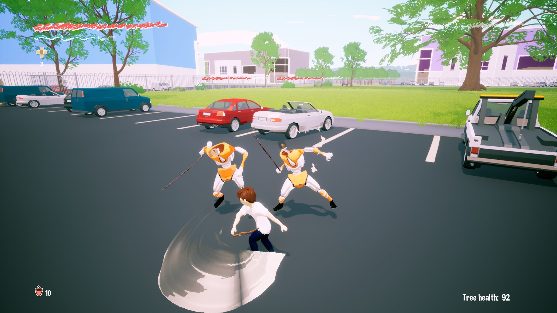 Knight Of The Parking Lot screenshot