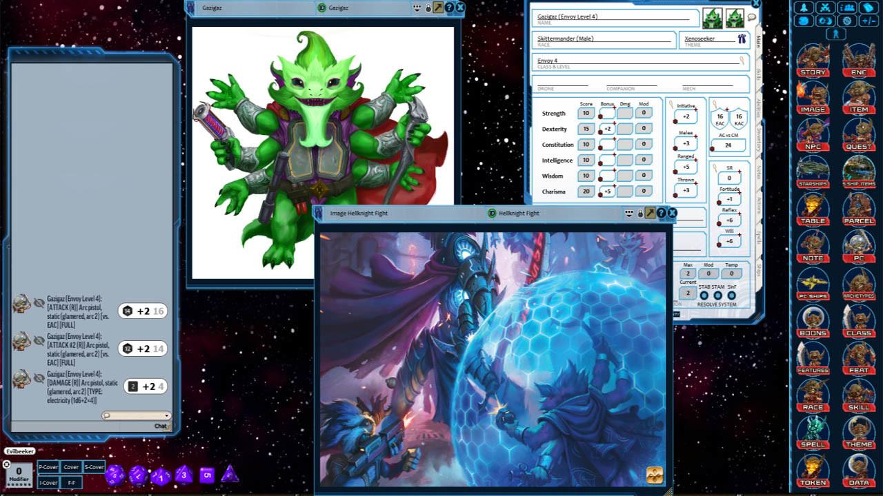 Fantasy Grounds - Starfinder RPG - Starfinder Skitter Home screenshot