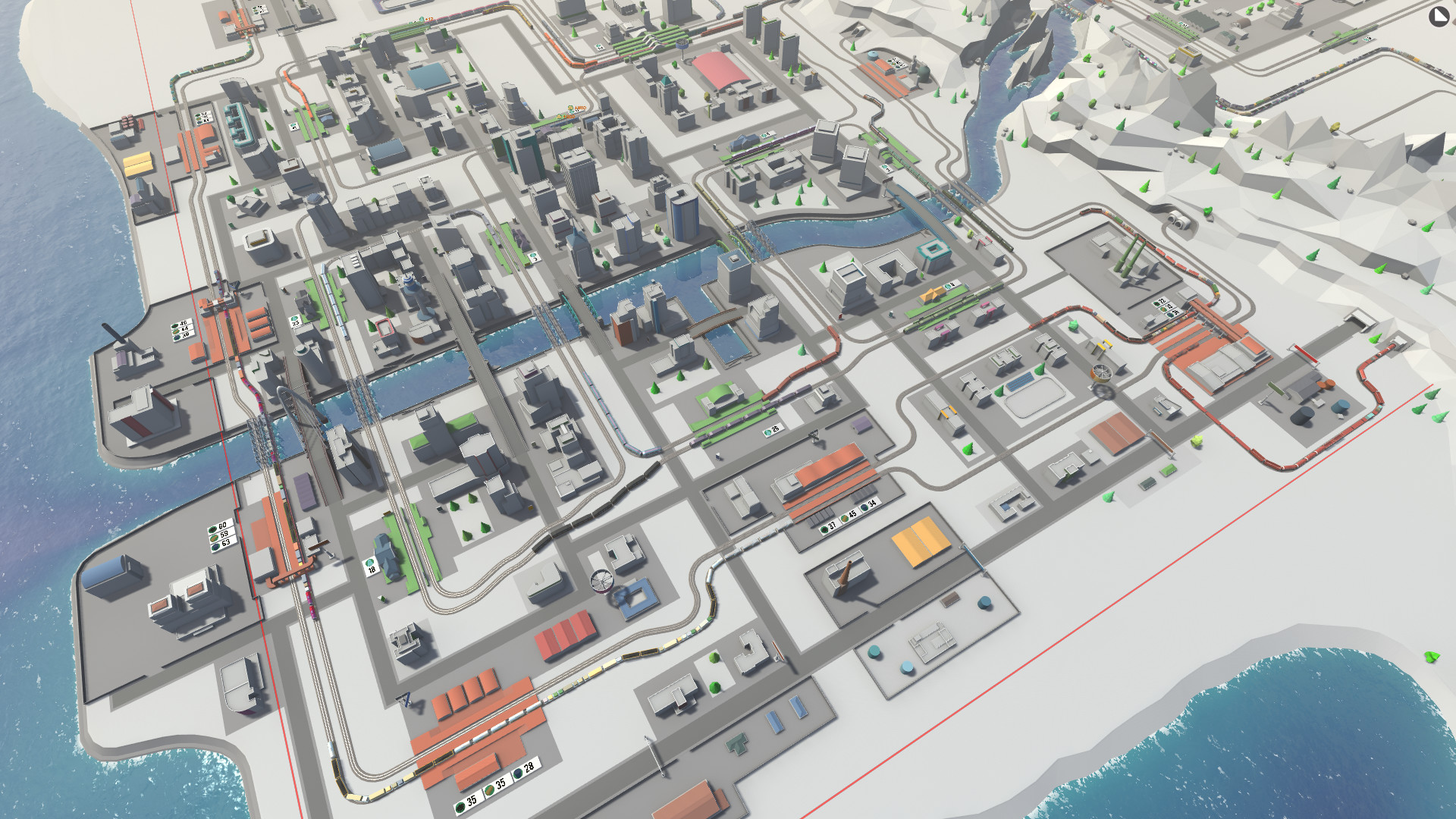 My Train Arrives - Neighbouring cities screenshot