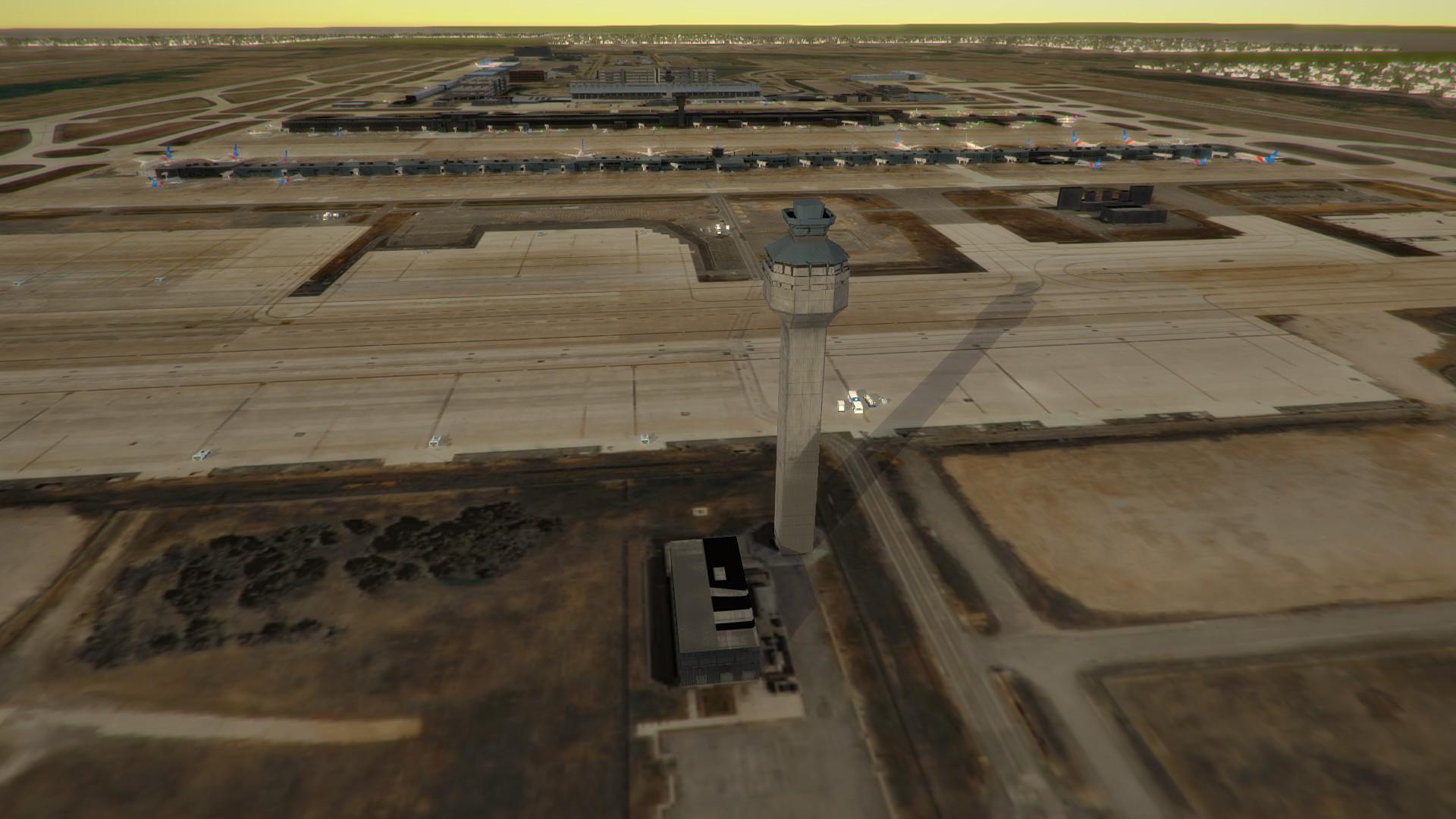 Tower!3D Pro - KIAD airport screenshot