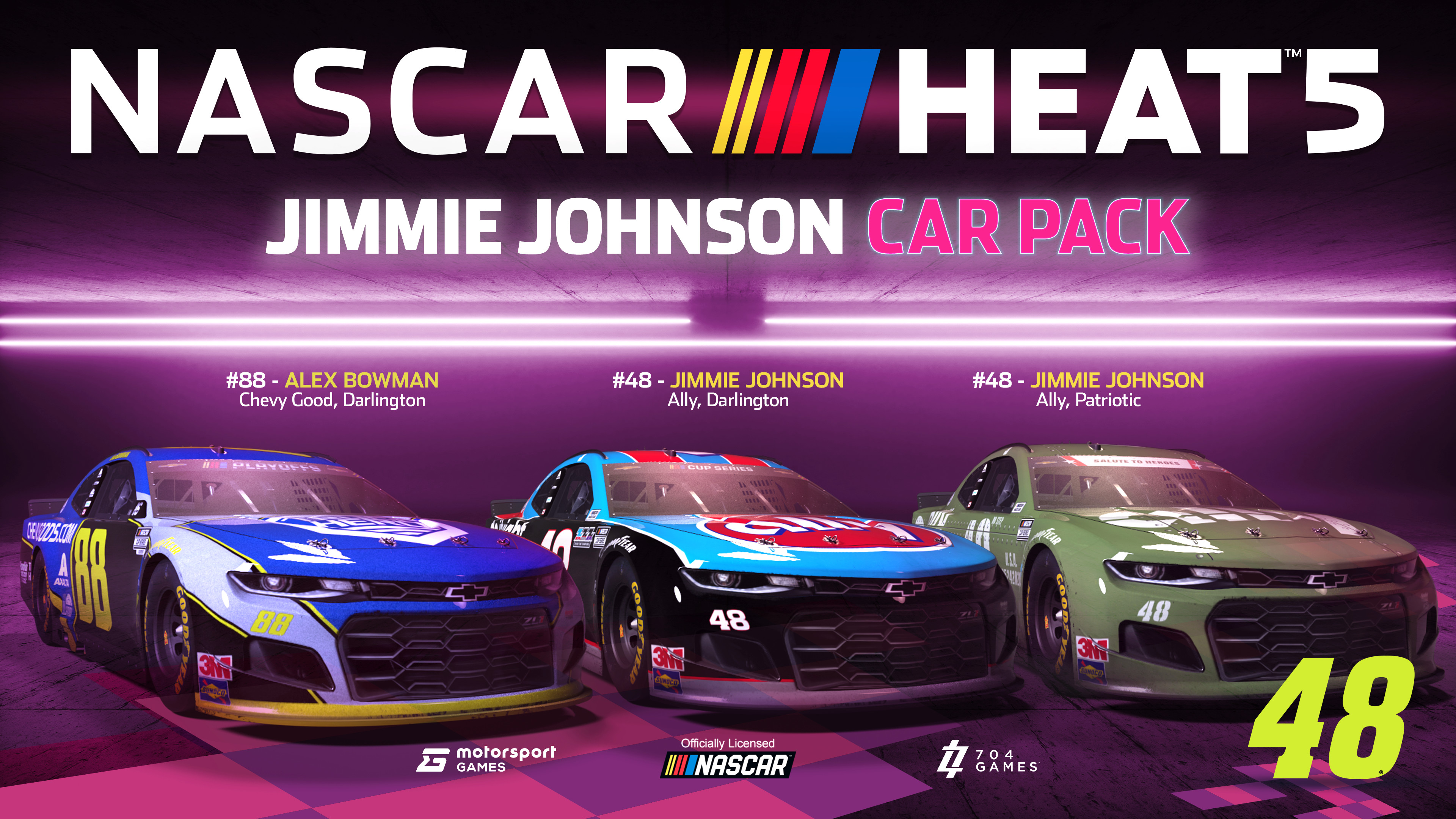 NASCAR Heat 5 - Jimmie Johnson Pack screenshot