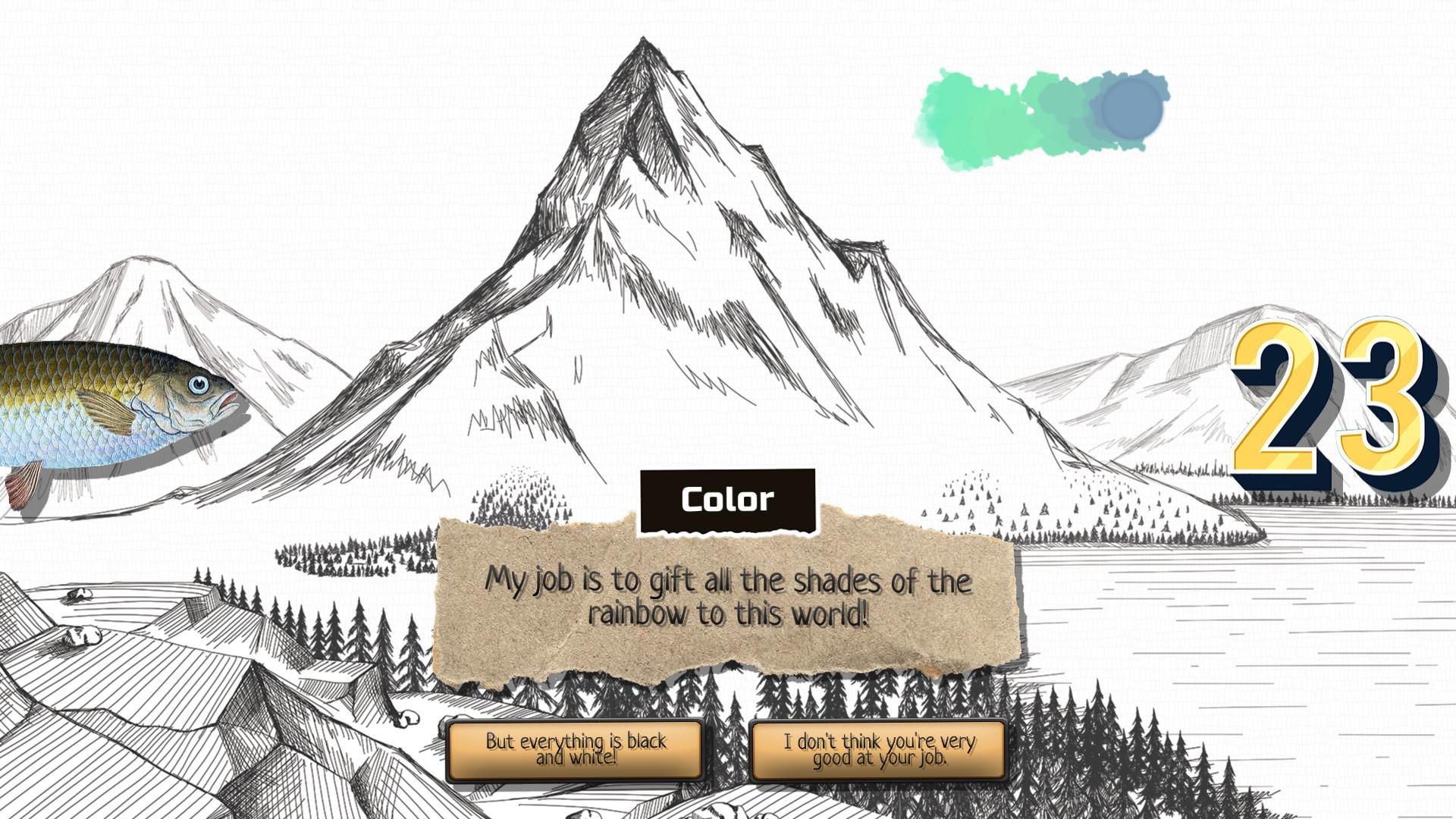 Odd Adventure of Chub, Color, 23 and You screenshot