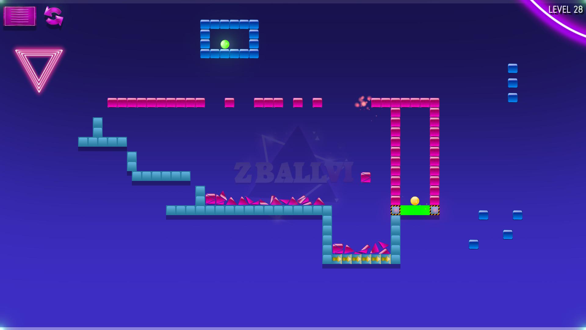 Zball VI screenshot