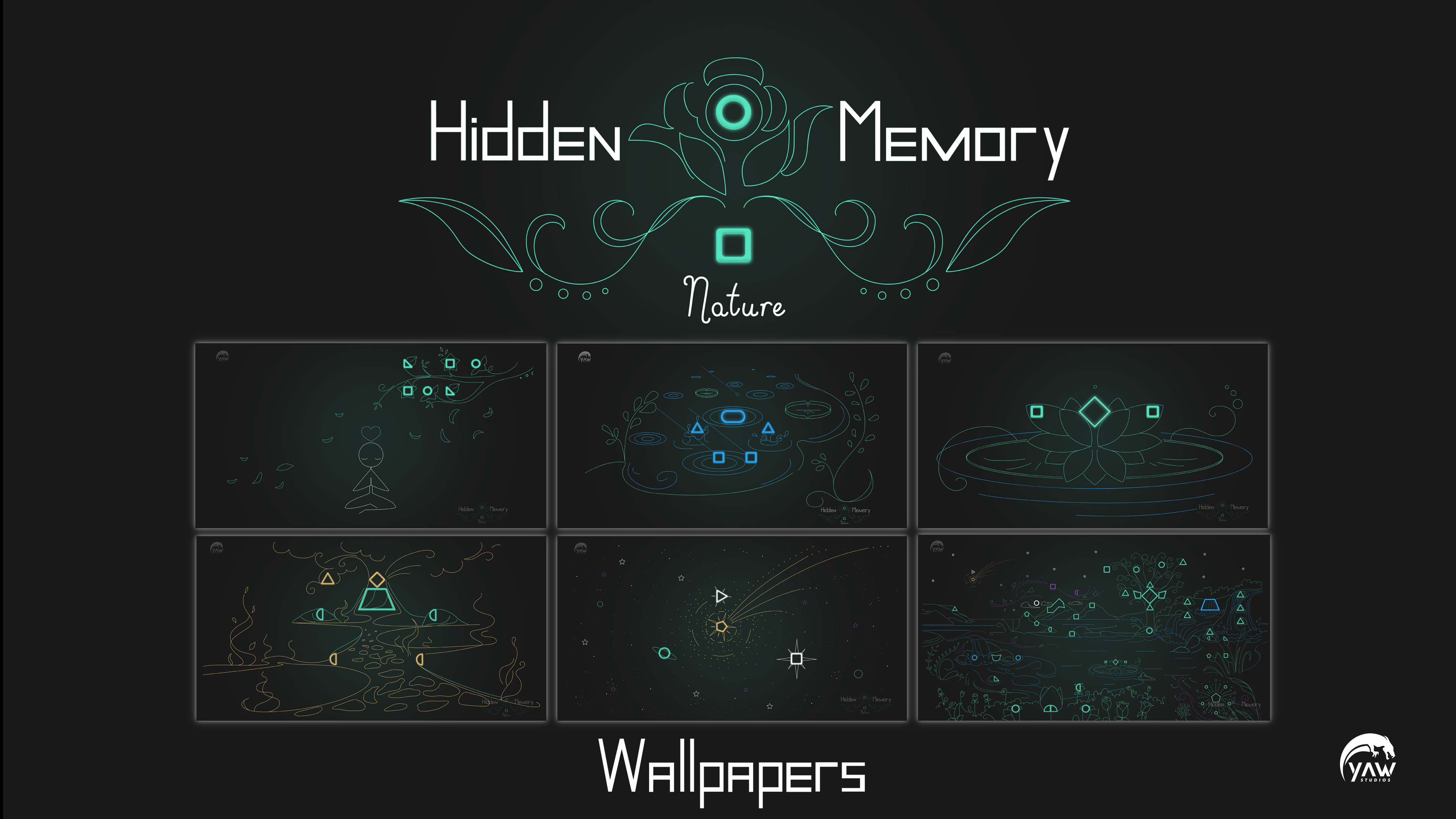 Hidden Memory Nature - Wallpapers screenshot