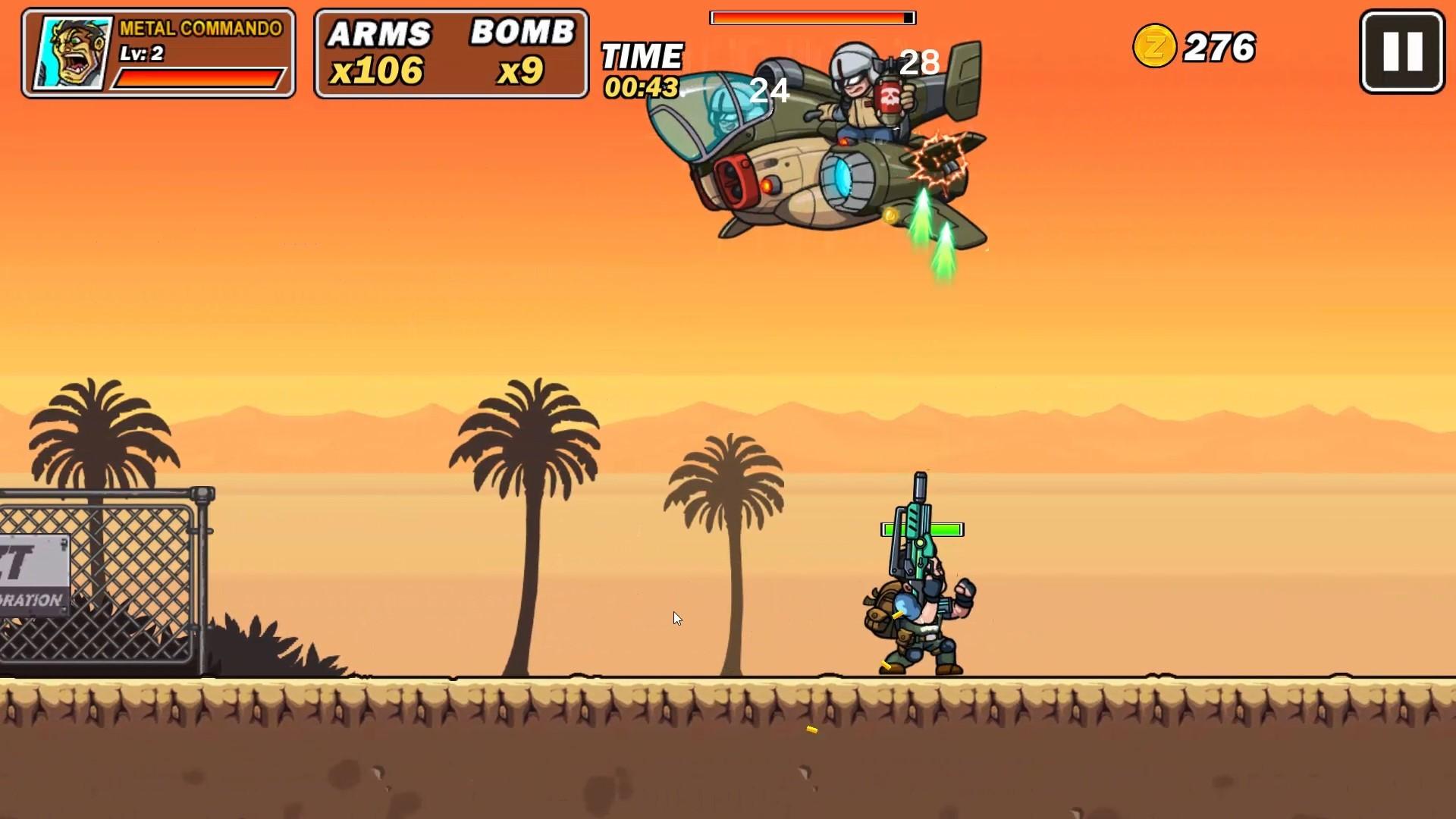 Metal Commando screenshot