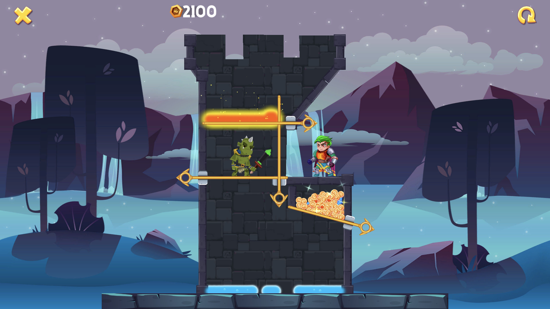 Hero Puzzle screenshot