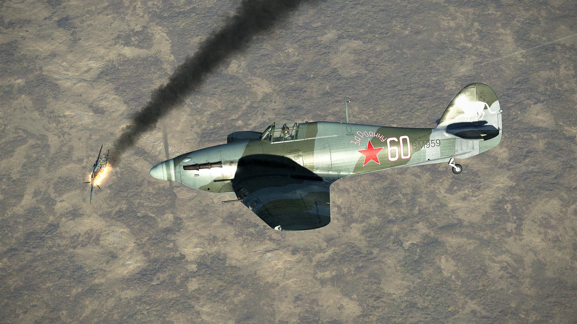 IL-2 Sturmovik: Hurricane Mk.II Collector Plane screenshot