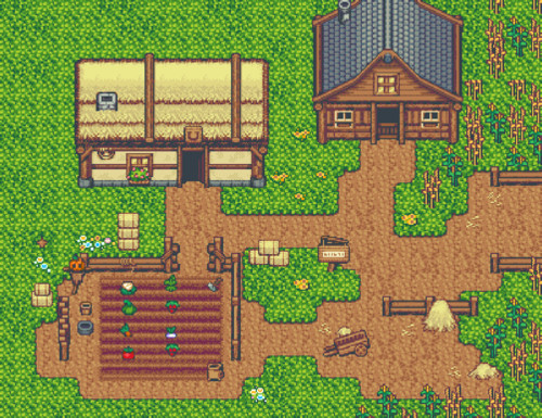 RPG Maker MZ - Time Fantasy: Farm and Fort screenshot