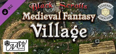 Fantasy Grounds - Black Scrolls Village (Map Tile Pack)