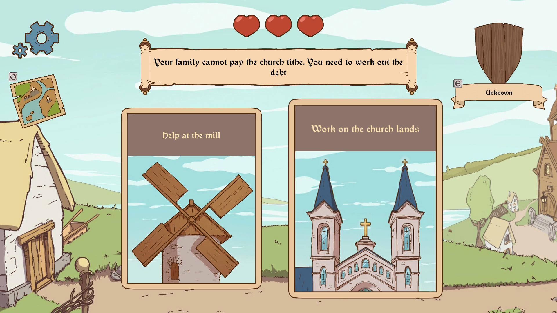 The Choice of Life: Middle Ages - Soundtrack screenshot