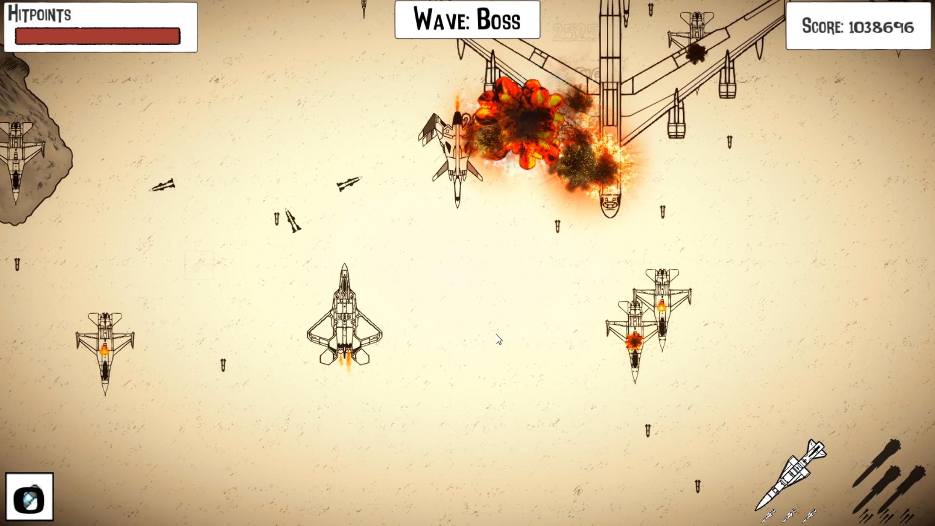 Aircraft Sketch Shooter screenshot