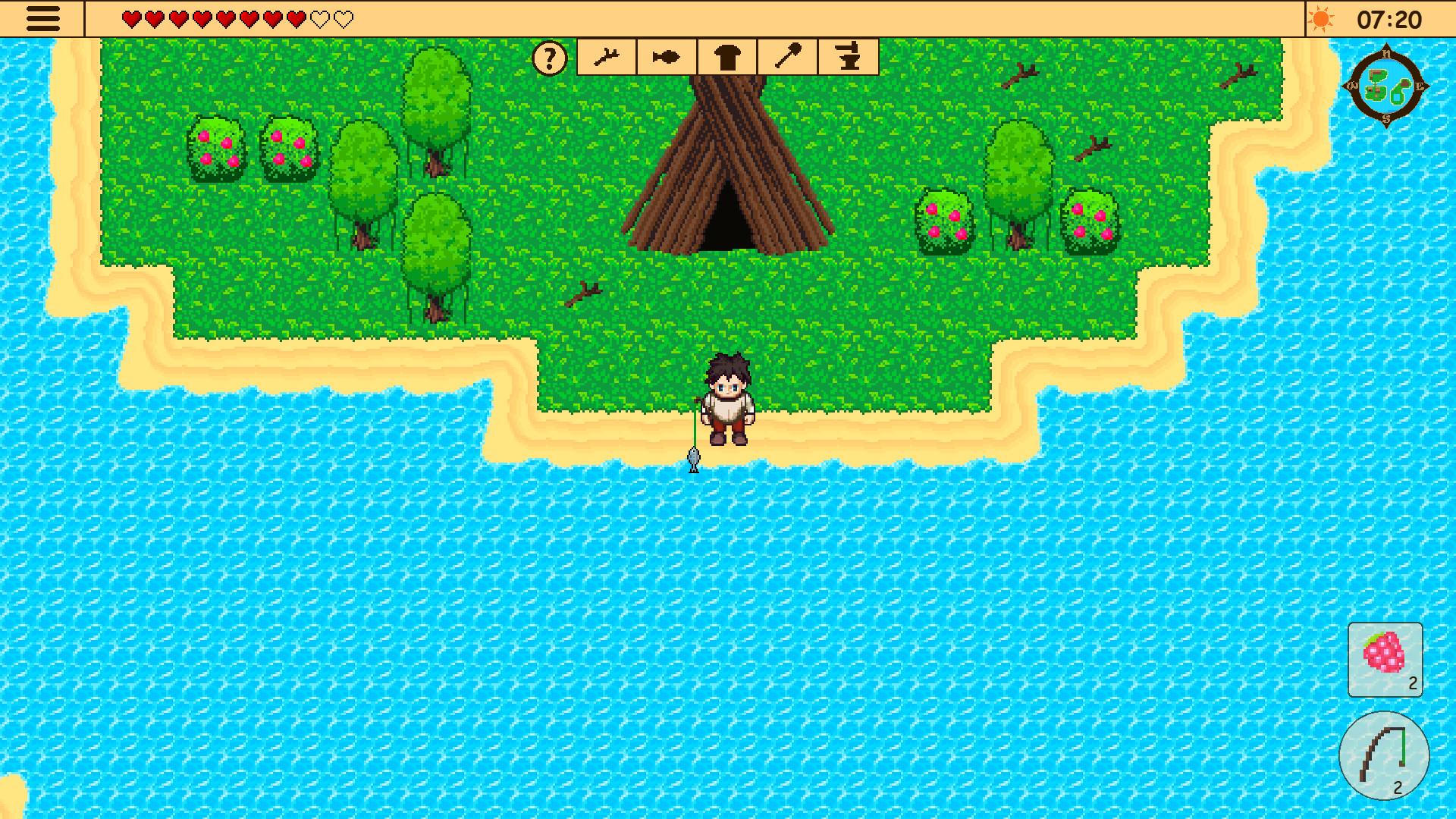 Survival RPG: The Lost Treasure screenshot
