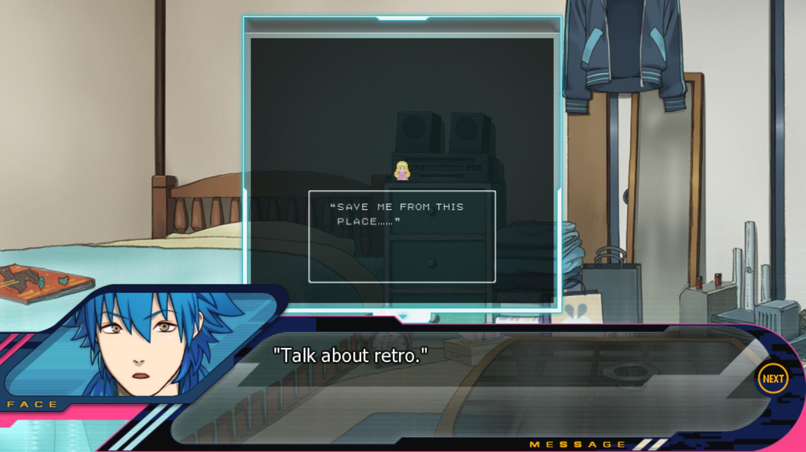 DRAMAtical Murder screenshot
