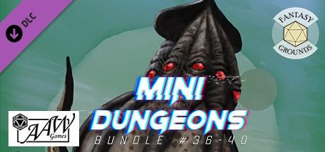 Fantasy Grounds - Mini-Dungeons Bundle #036-040