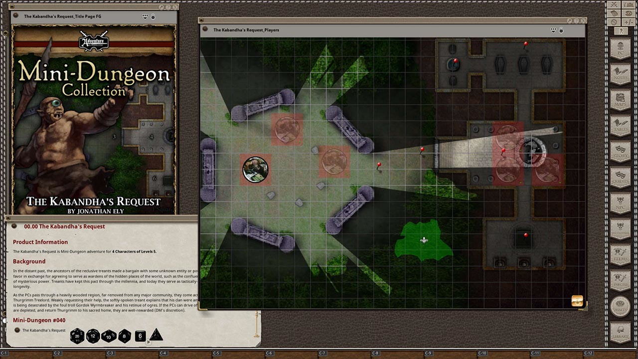 Fantasy Grounds - Mini-Dungeons Bundle #036-040 screenshot