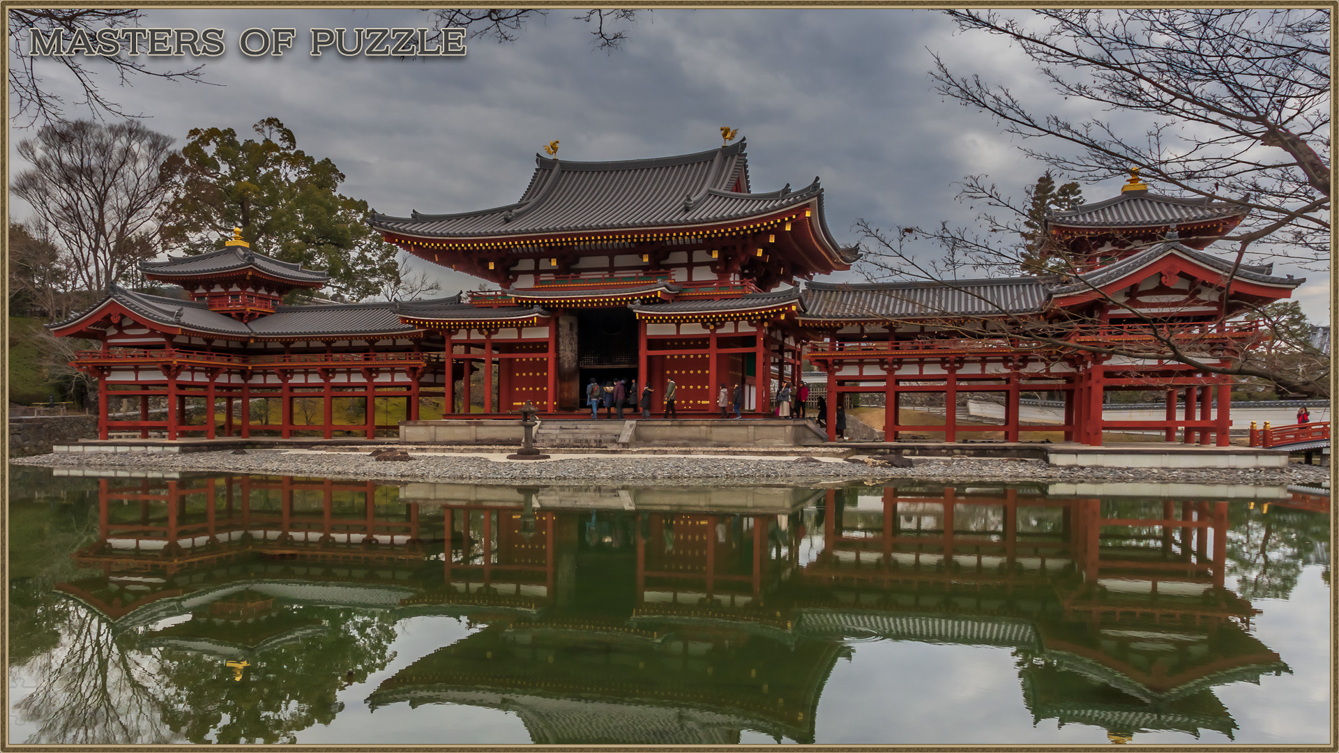Masters of Puzzle - Byodoin Reflection screenshot
