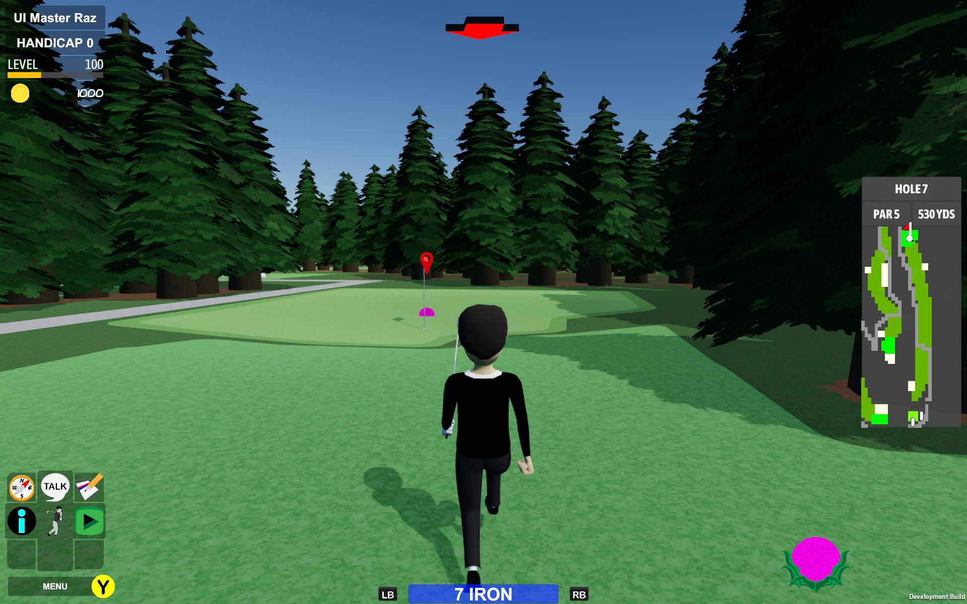 Mulligans Golf Game screenshot