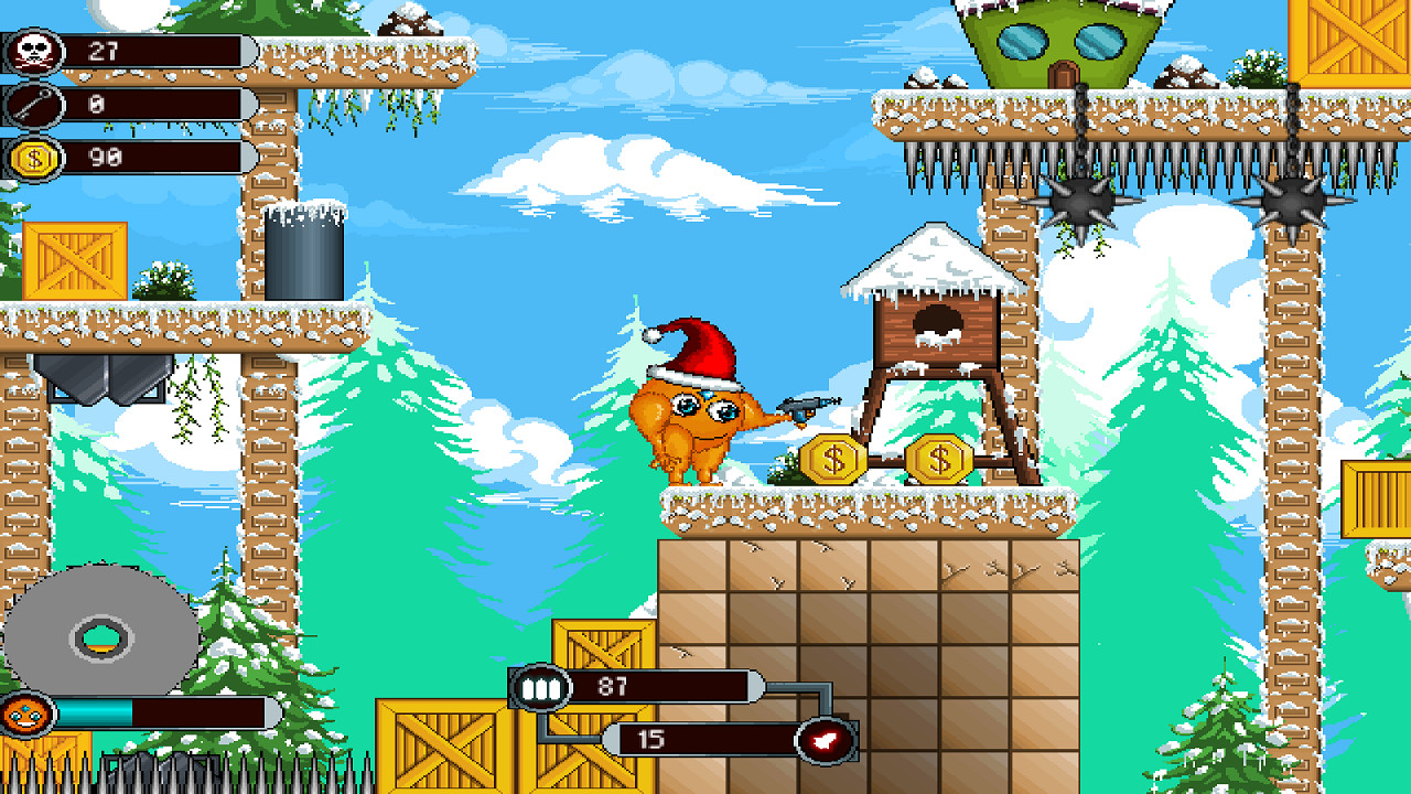Orange Santa screenshot