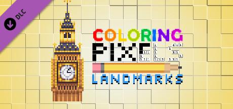 Coloring Pixels - Landmarks Pack