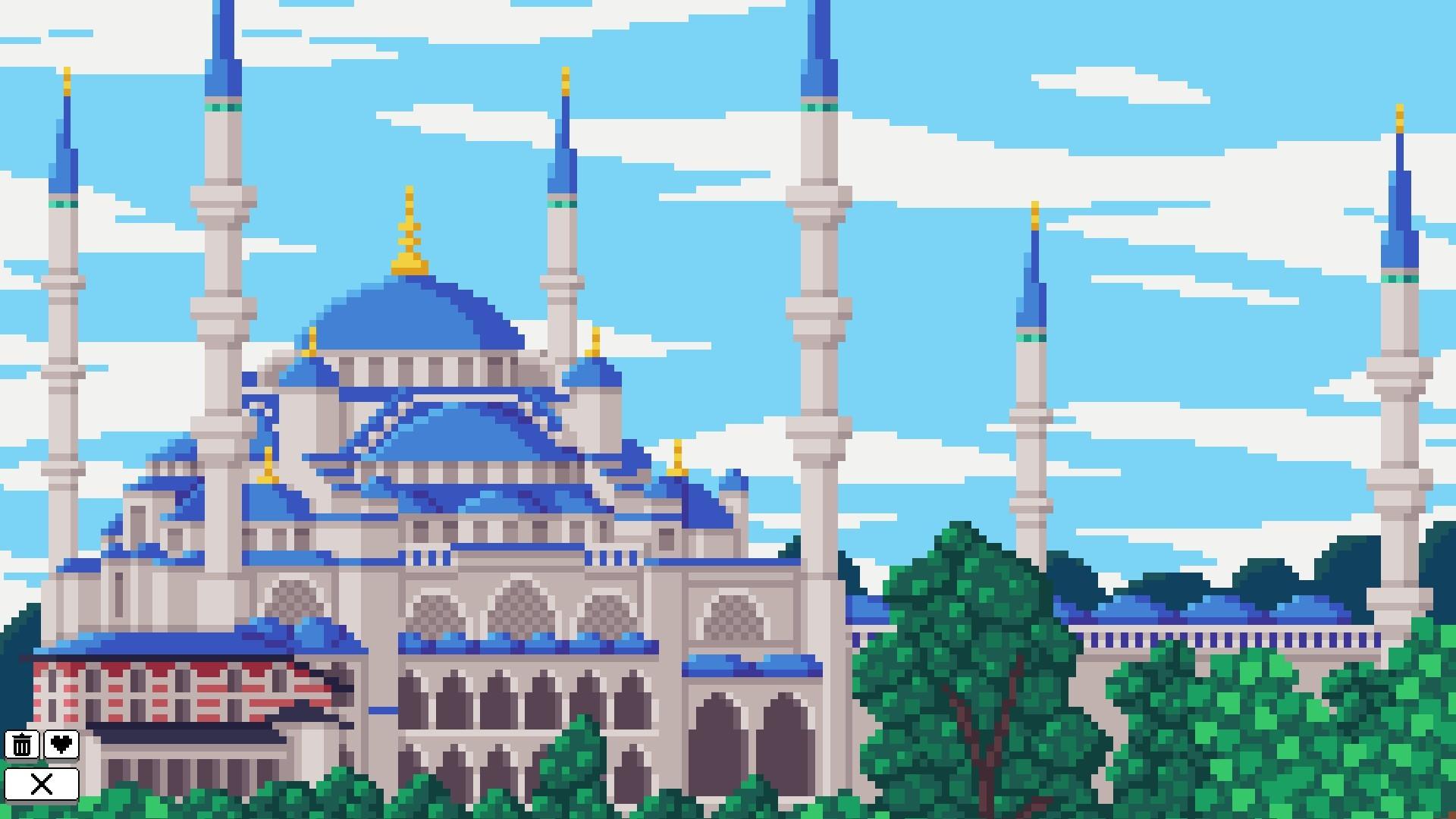 Coloring Pixels - Landmarks Pack screenshot