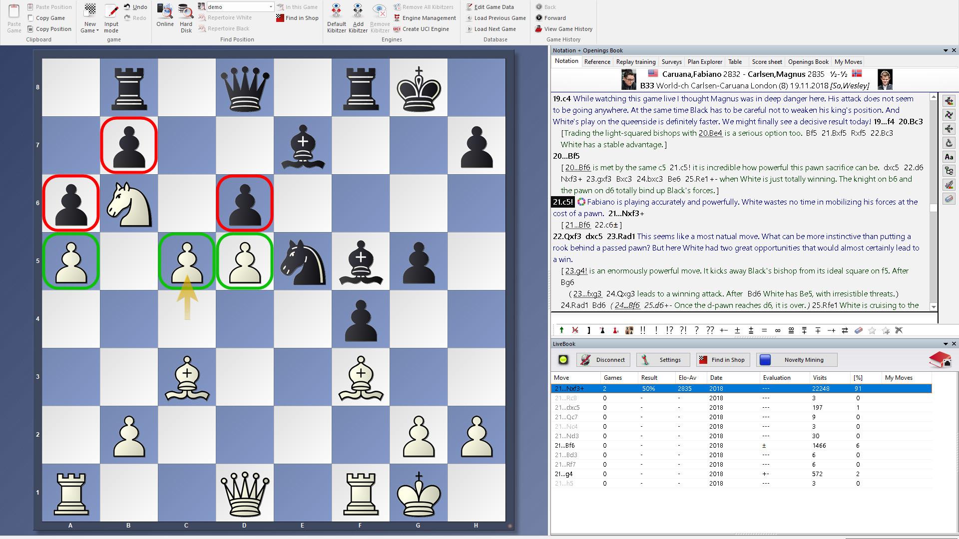 ChessBase 16 Steam Edition screenshot