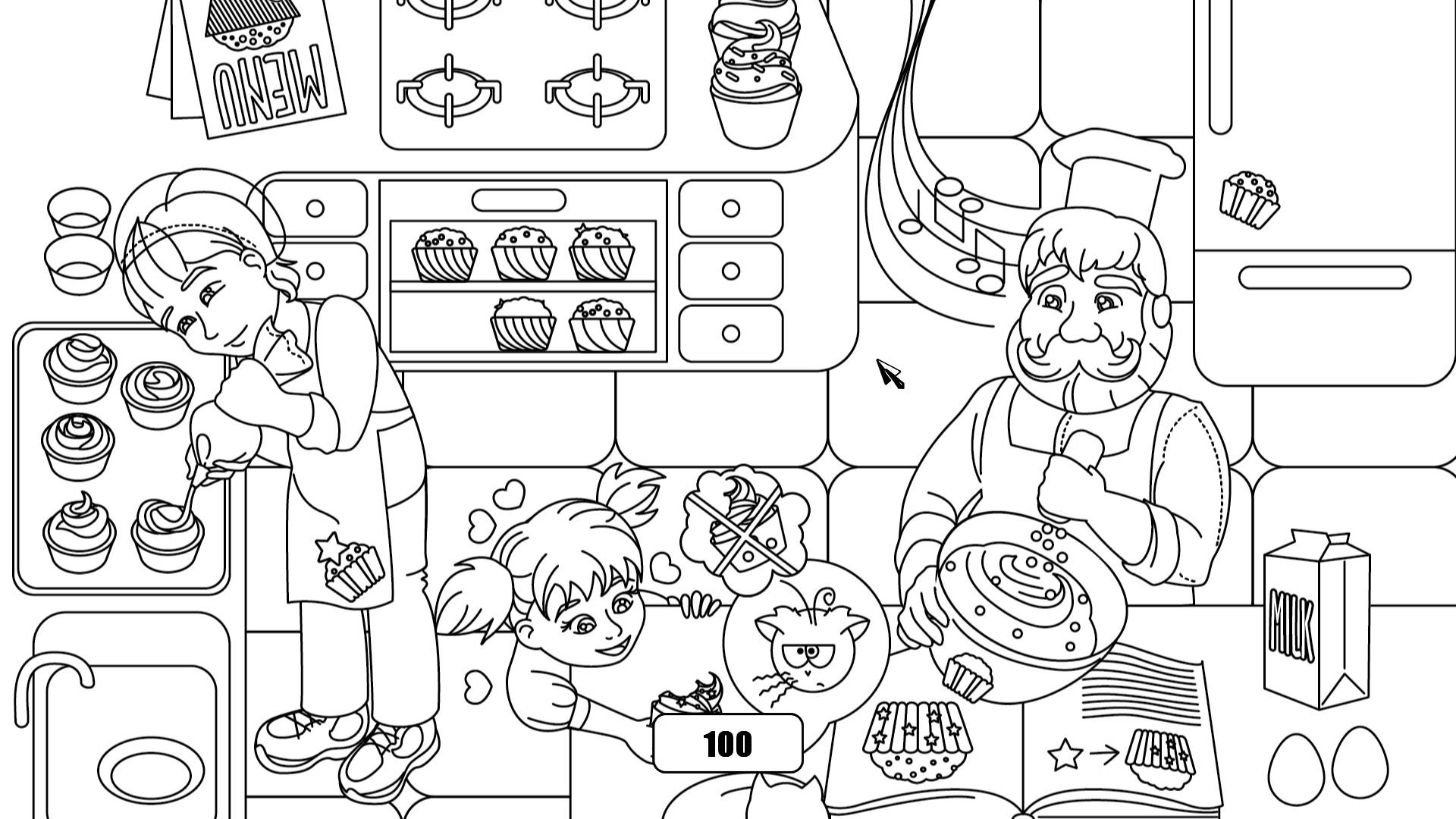100 hidden cupcakes screenshot