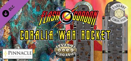 Fantasy Grounds - Flash Gordon Combat Map 2: Coralia + War Rocket