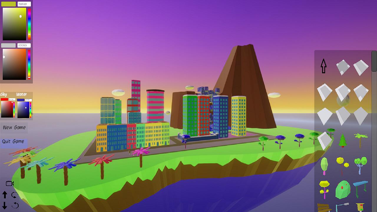 My Low Poly City screenshot