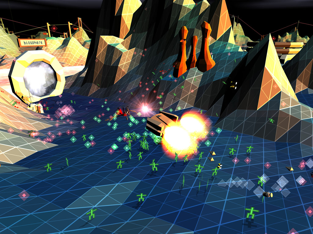 Darwinia screenshot