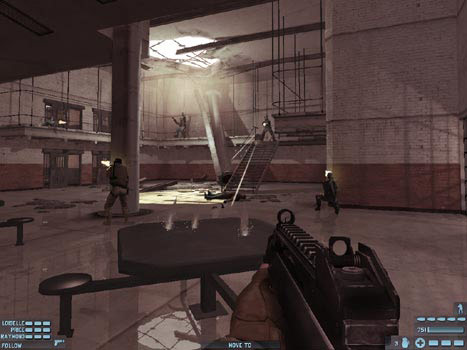 Tom Clancy's Rainbow Six Lockdown screenshot