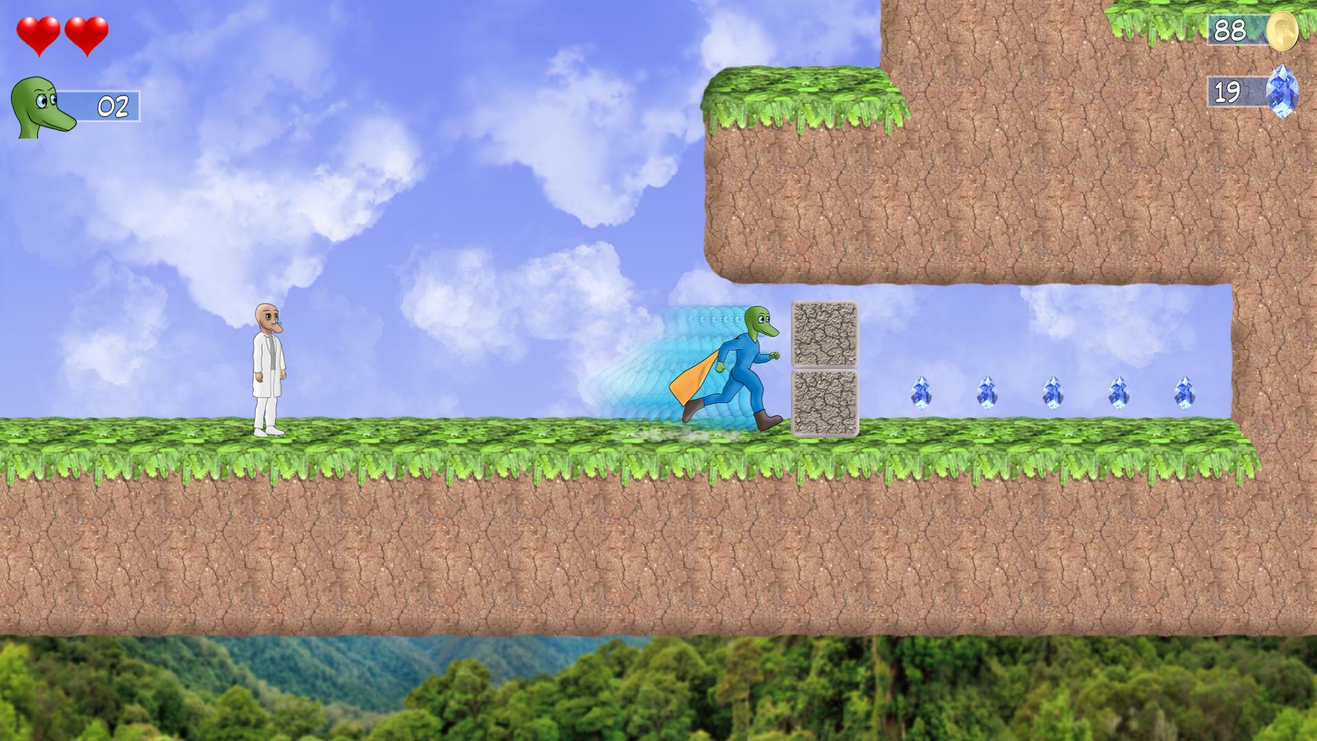 Snake Man's Adventure screenshot