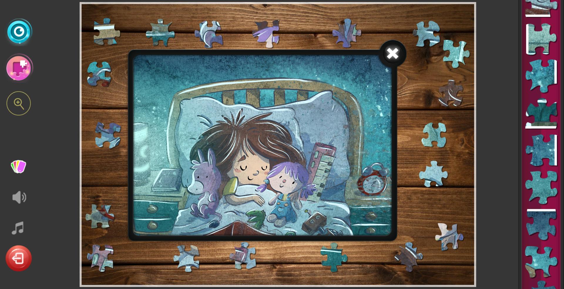 Children's Jigsaw Puzzles screenshot