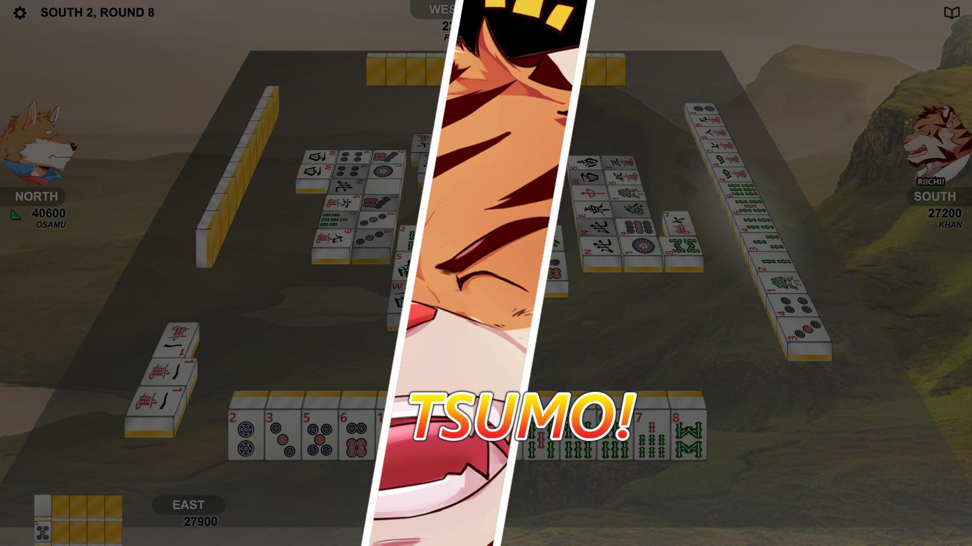 Kemono Mahjong screenshot