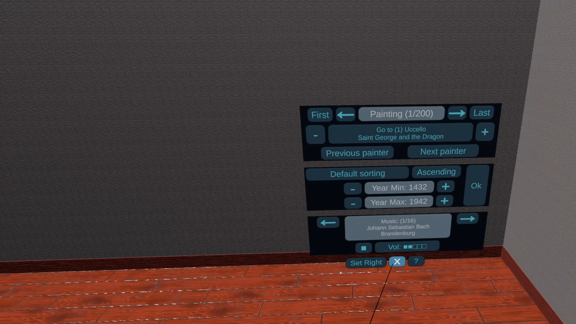 Great Paintings VR screenshot