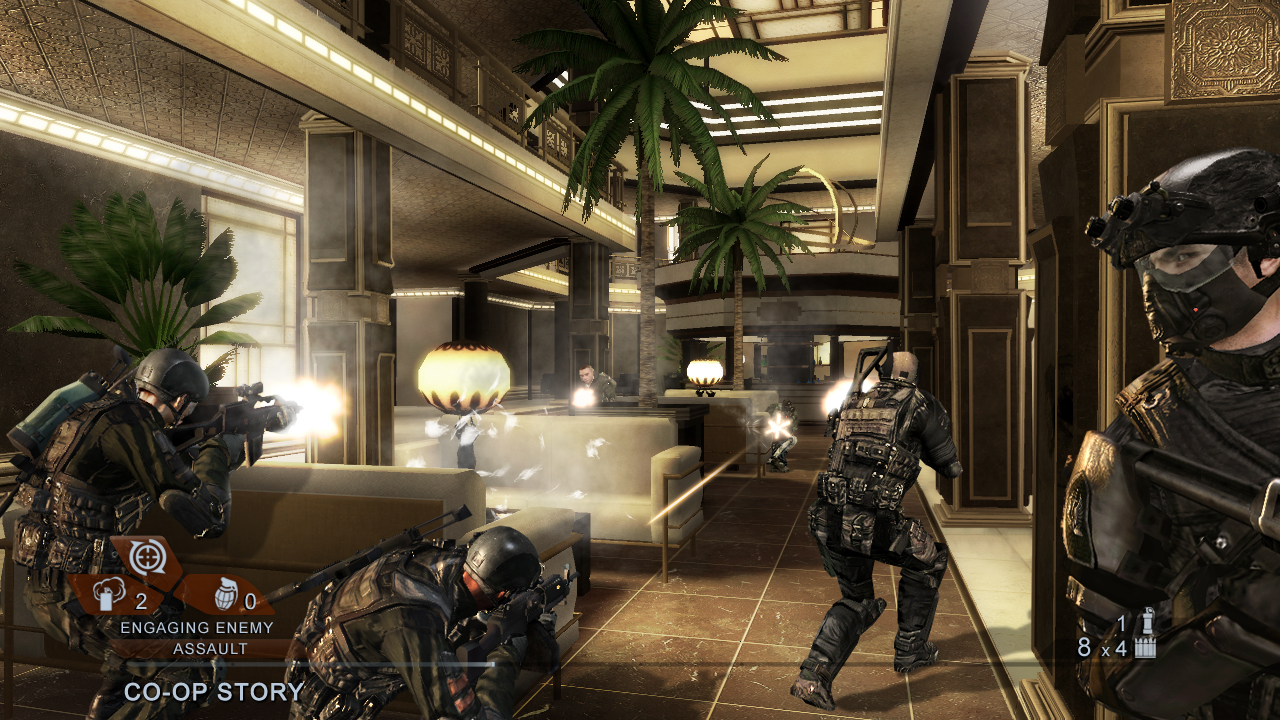 Tom Clancy's Rainbow Six Vegas 2 screenshot