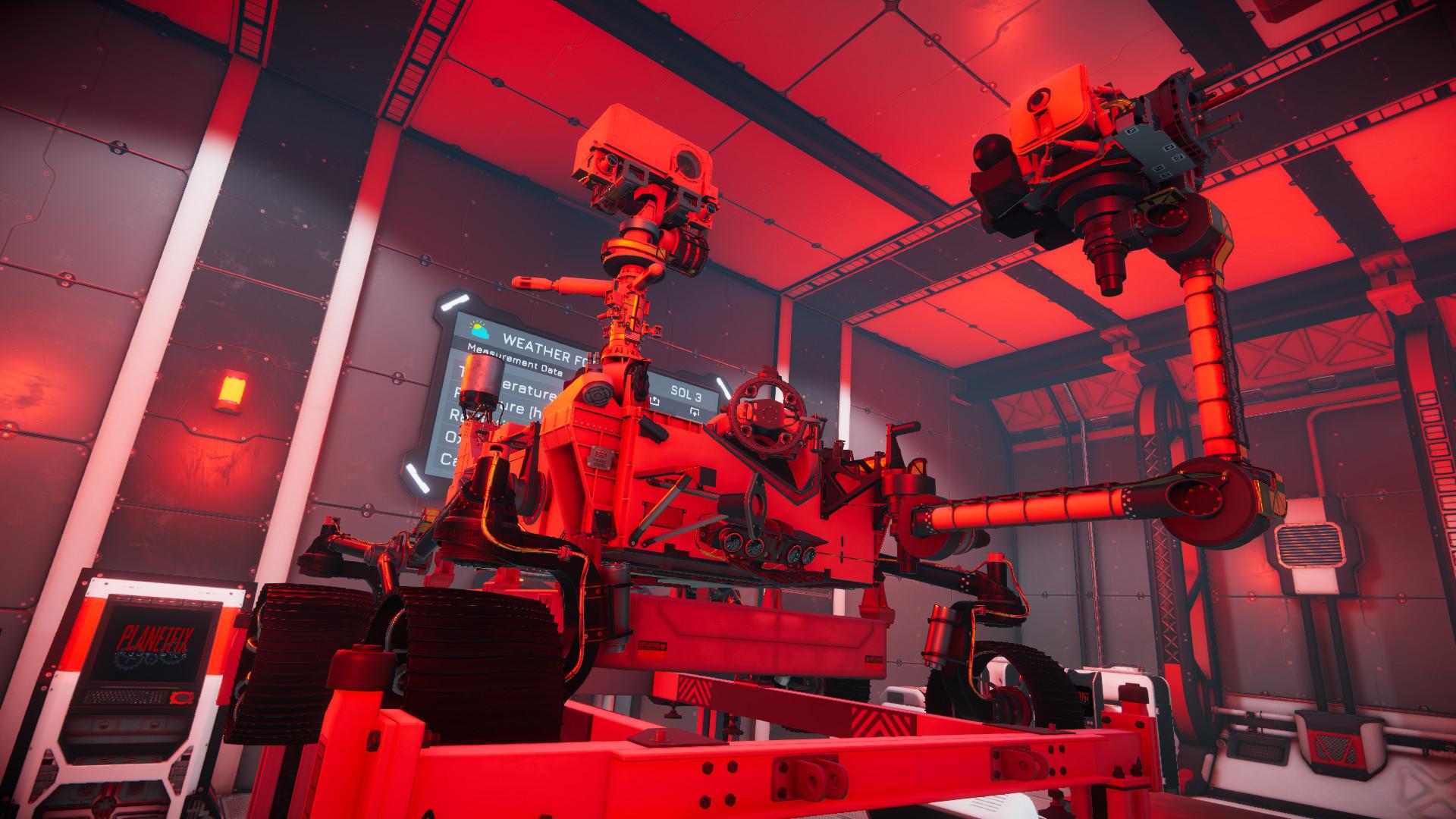Rover Mechanic Simulator - Perseverance Rover DLC screenshot