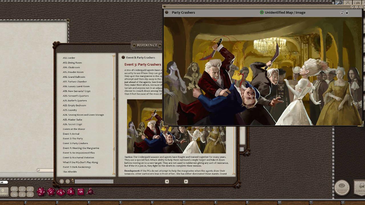 Fantasy Grounds - Aegis of Empires - AE2 - The Ebon Soul (5E) screenshot
