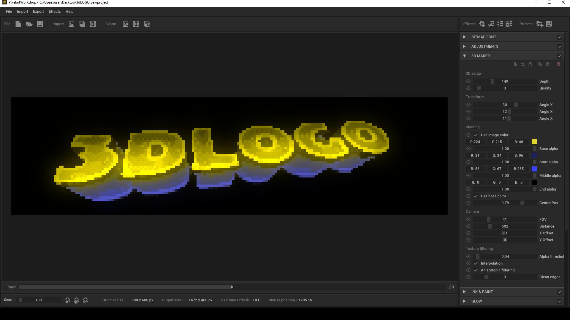 Pixel Art Workshop screenshot