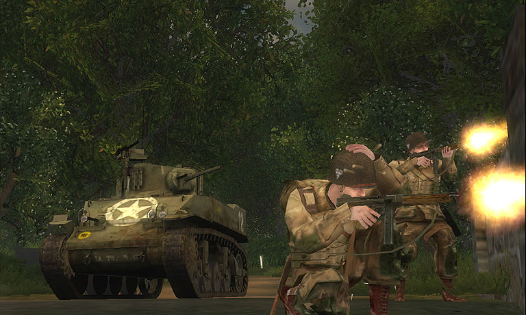 Brothers in Arms: Road to Hill 30 screenshot