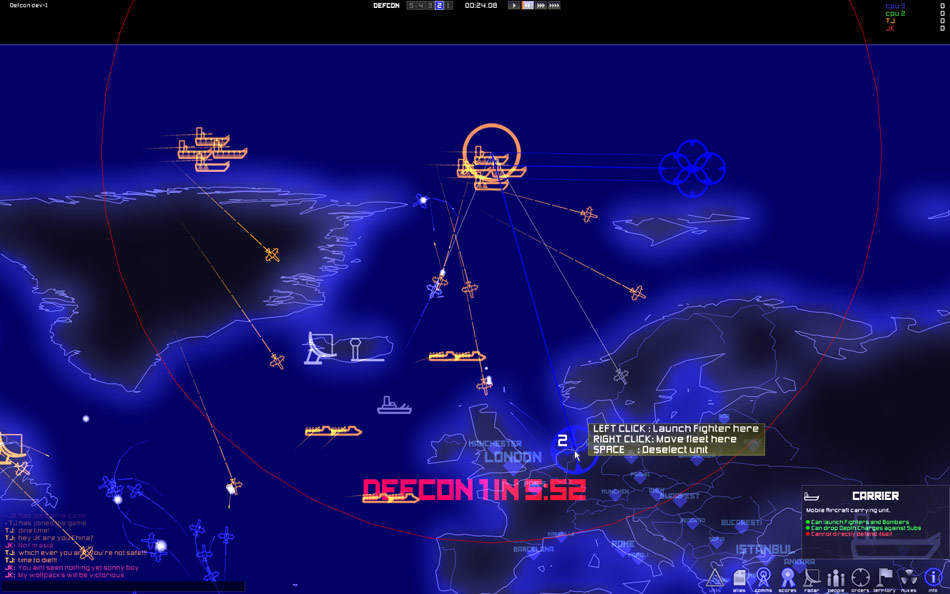 DEFCON screenshot