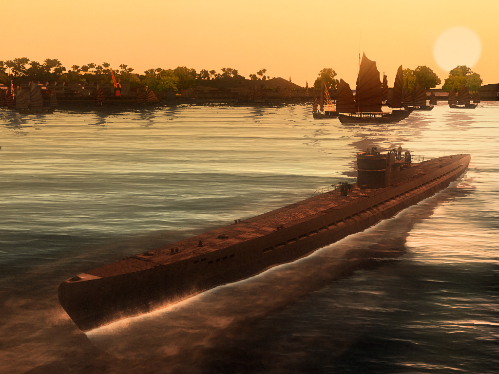 Silent Hunter: Wolves of the Pacific U-Boat Missions screenshot