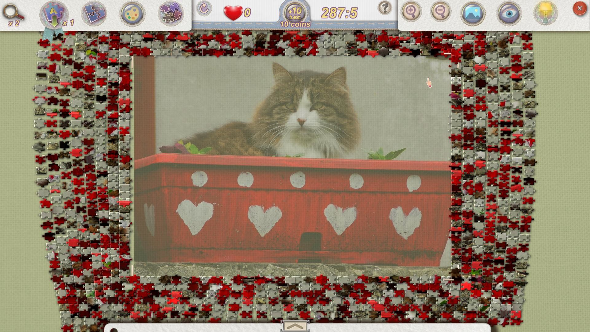Jigsaw Pieces - Valentine's Day screenshot